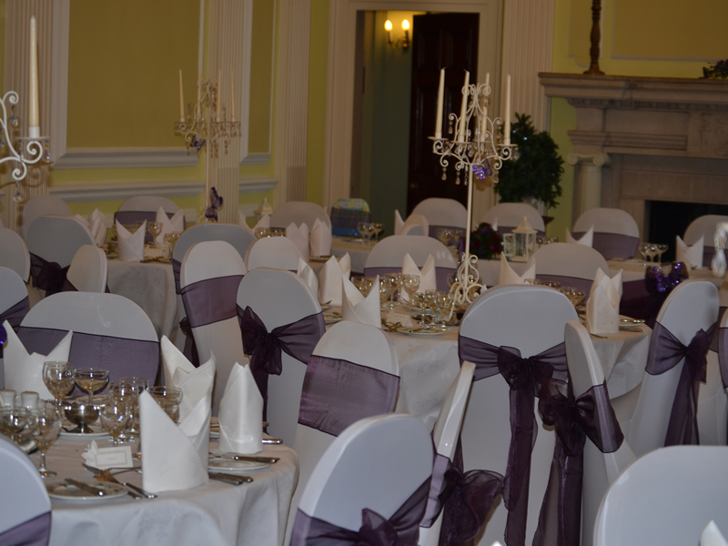 NOrmanby Hall Wedding Decorator
